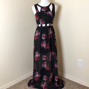 8678416ef4c55 H&M Dresses | Hm Cut Out Maxi Dress Size 6 | Poshmark